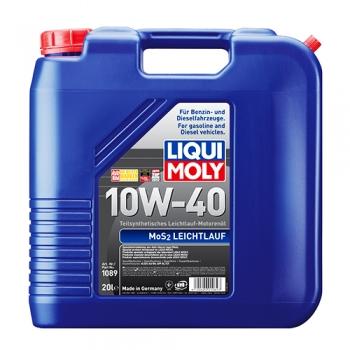 Масло моторное с молибденом Liqui Moly 10W-40 MoS2 Leichtlauf (20 л)