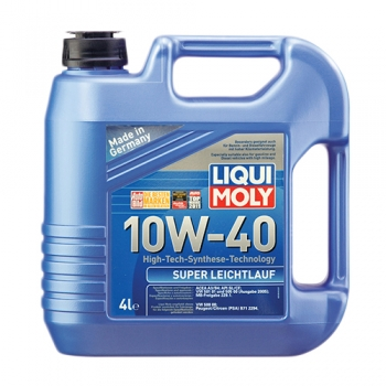 Масло моторное Liqui Moly 10W-40 Super Leichtlauf (4 л)