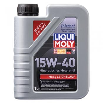Масло моторное Liqui Moly 15W-40 MoS2-Leichtlauf (1 л)