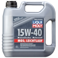 Масло моторное Liqui Moly 15W-40 MoS2-Leichtlauf (4 л), 329, Liqui Moly, Моторное масло