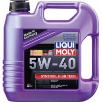 Масло моторное Liqui Moly 5W-40 Synthoil High Tech (4 л), 409, Liqui Moly, Моторное масло