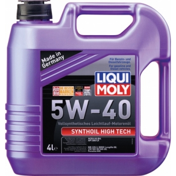 Масло моторное Liqui Moly 5W-40 Synthoil High Tech (4 л)