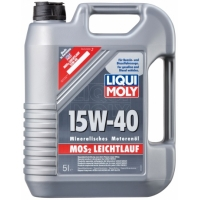 Масло моторное Liqui Moly 15W-40 MoS2-Leichtlauf (5 л), 330, Liqui Moly, Моторное масло