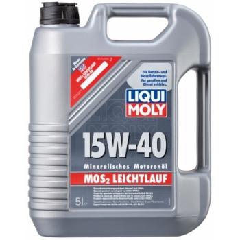 Масло моторное Liqui Moly 15W-40 MoS2-Leichtlauf (5 л)