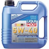 Масло моторное Liqui Moly 5W-40 Leichtlauf High Tech (4 л), 1609, Liqui Moly, Моторное масло