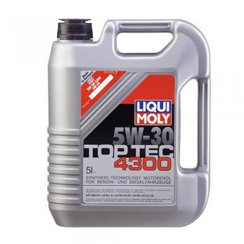Масло моторное Liqui Moly 5W-30 Top Tec 4300 (5 л)