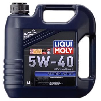 Масло моторное Liqui Moly 5W-40 Optimal Synth (4 л)