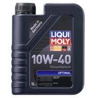 Масло моторное Liqui Moly 10W-40 Optimal (1 л), 1601, Liqui Moly, Моторное масло