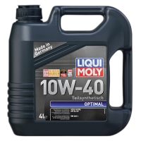 Масло моторное Liqui Moly 10W-40 Optimal (4 л), 1602, Liqui Moly, Моторное масло