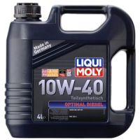 Масло моторное Liqui Moly 10W-40 Optimal Diesel (4 л), 1604, Liqui Moly, Моторное масло
