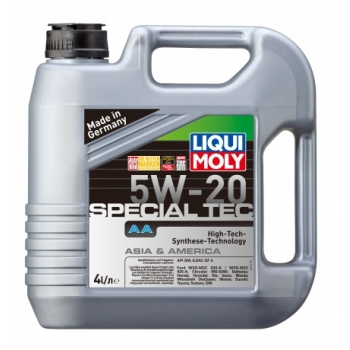 Масло моторное Liqui Moly 5W-20 Special Tec AA (4 л)
