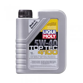 Масло моторное Liqui Moly 5W-40 Top Tec 4100 (1 л)