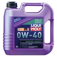 Масло моторное Liqui Moly 0W-40 Synthoil Energy (4 л), 360, Liqui Moly, Моторное масло