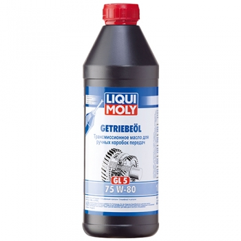 Масло трансмиссионное Liqui Moly Getriebeoil 75W-80 (GL-5) (1 л)