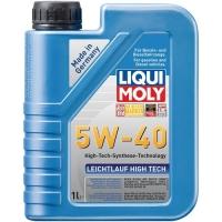 Масло моторное Liqui Moly 5W-40 Leichtlauf High Tech (1 л), 1608, Liqui Moly, Моторное масло