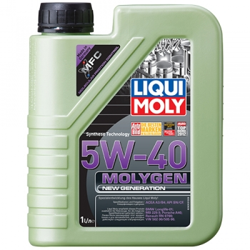 Масло моторное Liqui Moly 5W-40 Molygen New Generation (1 л)
