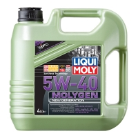 Масло моторное Liqui Moly 5W-40 Molygen New Generation (4 л), 1653, Liqui Moly, Моторное масло