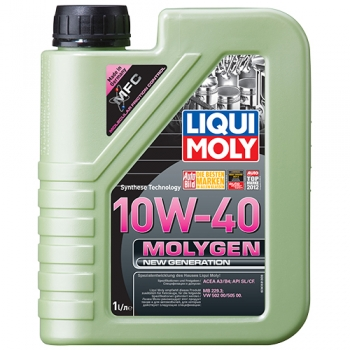 Масло моторное Liqui Moly 10W-40 Molygen New Generation (1 л)