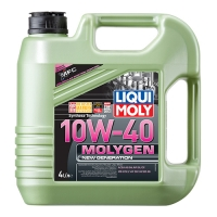 Масло моторное Liqui Moly 10W-40 Molygen New Generation (4 л), 1645, Liqui Moly, Моторное масло