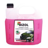"""Жидкость омывателя Bizol Summer Screen Wash (4 л) аромат """"арбуз"""""""