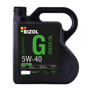 Масло моторное BIZOL 5W-40 Green Oil (4 л)