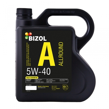 Масло моторное BIZOL 5W-40 Allround (4 л)