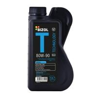 Масло трансмиссионное BIZOL 80W-90 Technology Gear Oil GL5 (1 л), 650, Bizol, Трансмиссионное масло