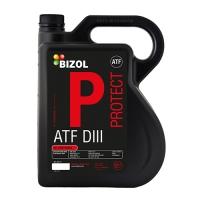 Масло для АКПП и гидроприводов BIZOL Protect ATF DIII (5 л), 658, Bizol, Трансмиссионное масло