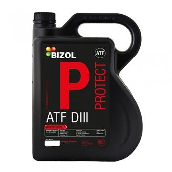 Масло для АКПП и гидроприводов BIZOL Protect ATF DIII (5 л)