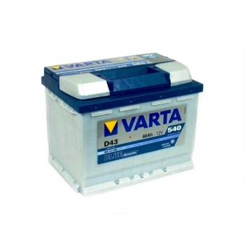 Аккумулятор VARTA 6СТ-60 Blue Dynamic D43 (плюс слева)