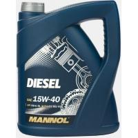 Масло моторное Mannol 15W-40 Diesel (5 л), 1798, Mannol, Моторное масло