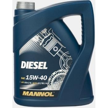 Масло моторное Mannol 15W-40 Diesel (5 л)