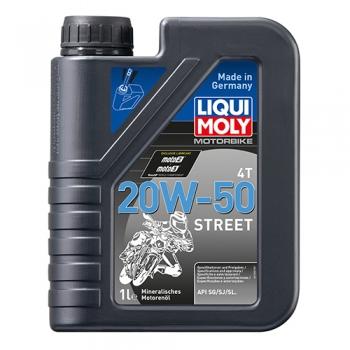 Масло для 4-тактных двигателей Motorbike 4T 20W-50 Street (1 л)