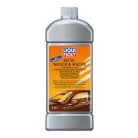 Автомобильный шампунь с воском Liqui Moly Auto-Wasch & Wachs (1 л), 2968, Liqui Moly, Для кузова