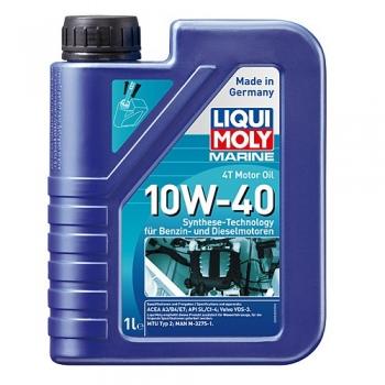 Масло для 4-тактных лодочных моторов Liqui Moly MARINE 4T MOTOR OIL 10W-40 (1 л)