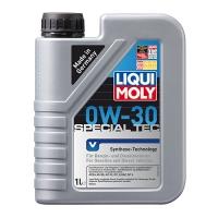 Синтетическое моторное масло Liqui Moly 0W-30 Special Tec V (1 л), 2729, Liqui Moly, Моторное масло
