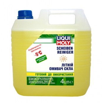Летний омыватель стекла Liqui Moly Scheiben-Reiniger с цитрусовым ароматом (готовый) (4 л)
