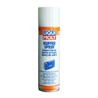 Высокотемпературная медная аэрозольная смазка Liqui Moly Kupfer-Spray (0,25 л), 2853, Liqui Moly, Сервисные смазки и пасты