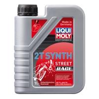 Масло для 2-тактных двигателей Motorbike 2T Synth Street Race (1 л), 790, Liqui Moly, Мото программа
