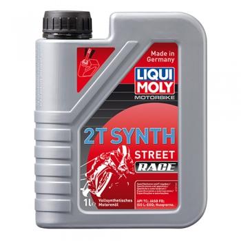Масло для 2-тактных двигателей Motorbike 2T Synth Street Race (1 л)