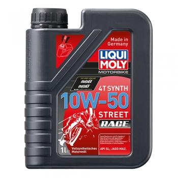 Масло для 4-тактных двигателей Motorbike 4T Synth 10W-50 Street Race (1 л)
