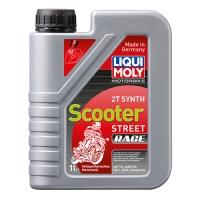 Масло для 2-тактных двигателей Liqui Moly Motorbike 2T Synth Scooter Street Race (1 л), 1619, Liqui Moly, Мото программа