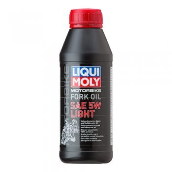 Масло для мотовилок и амортизаторов Liqui Moly Motorbike Fork Oil 5W Light (0,5 л)