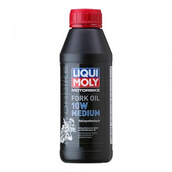 Масло для мотовилок и амортизаторов Liqui Moly Motorbike Fork Oil 10W Medium (0,5 л)
