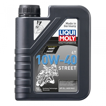 Масло для 4-тактных двигателей Motorbike 4T 10W-40 Street (1 л)