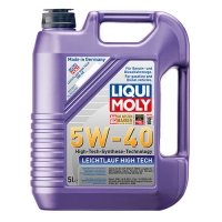 Масло моторное Liqui Moly 5W-40 Leichtlauf High Tech (5 л), 2728, Liqui Moly, Моторное масло