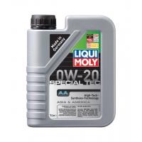 Синтетическое моторное масло Liqui Moly 0W-20 Special Tec AA (1 л), 2848, Liqui Moly, Моторное масло