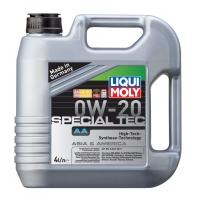 Синтетическое моторное масло Liqui Moly 0W-20 Special Tec AA (4 л), 2849, Liqui Moly, Моторное масло