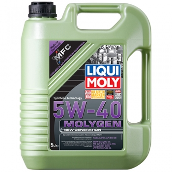 Масло моторное Liqui Moly 5W-40 Molygen New Generation (5 л)