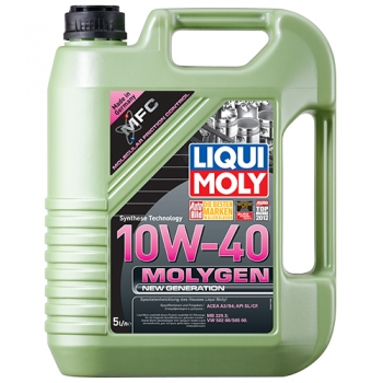 Масло моторное Liqui Moly 10W-40 Molygen New Generation (5 л)